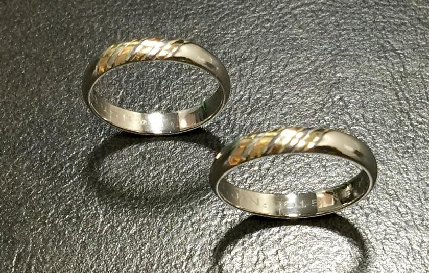 リフォームして結婚指輪