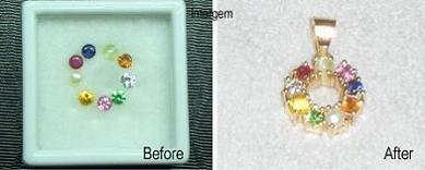 海外で買われた宝石の加工依頼