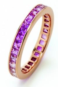 K18PG Pink sapphire