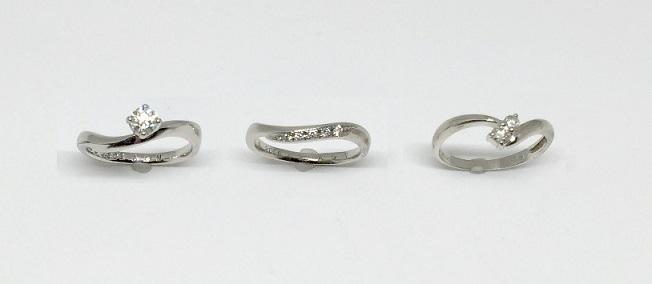 ダイヤモンド婚約指輪のジュエリーリフォーム